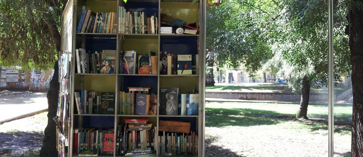 Jedan park u Santjagou u Čileu takođe može da se pohvali čitaonicom na otvorenom.