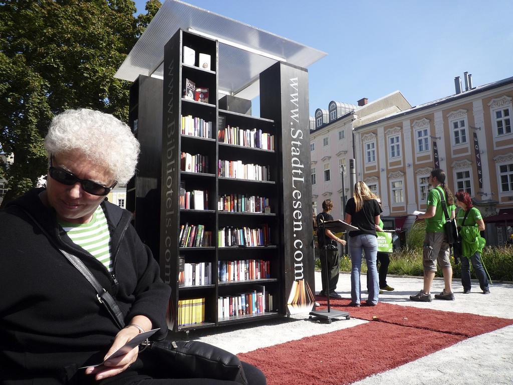 Mala čitaonica u austrijskom gradu Lincu.