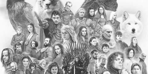 pencil-art-game-of-thrones-main-characters