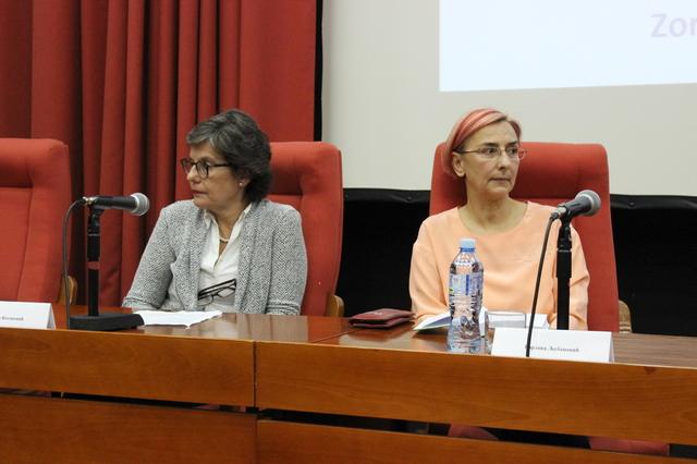 Biljana Kosanovic i Gordana Ljubanovic
